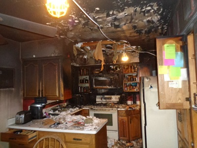 Fire & Smoke Damage Restoration Experts